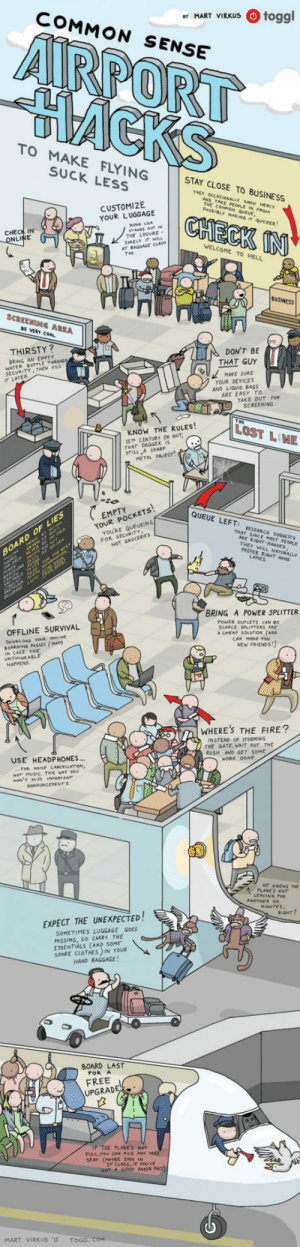 epicjohndoe:  Airport Hacks To Make Flying Suck Less: epicjohndoe:  Airport Hacks To Make Flying Suck Less