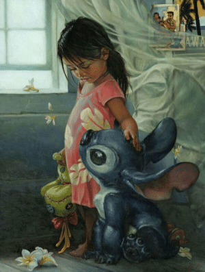 Tumblr, Blog, and Lilo and Stitch: epicjohndoe:  If Lilo And Stitch Were Real