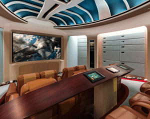Star Trek, Tumblr, and Blog: epicjohndoe:  Star Trek Home Theater