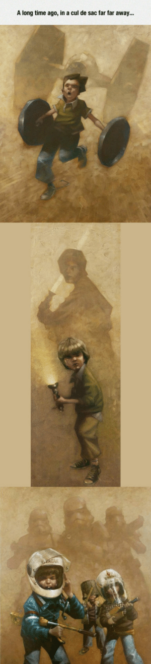 epicjohndoe:  Star Wars Childhood, Really Captures The Spirit Of Imagination: epicjohndoe:  Star Wars Childhood, Really Captures The Spirit Of Imagination