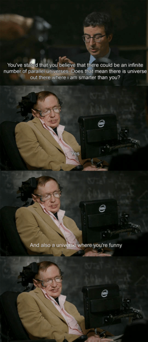 epicjohndoe:  When John Oliver Interviewed Stephen Hawking: epicjohndoe:  When John Oliver Interviewed Stephen Hawking