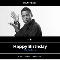"""[⚫️🎂🎉🎈Birthdays] - Famous comedian, actor, and entertainer, Chris Rock, was born on this day back in 1965 MelaninMatters365⠀ •••••••••••••••••••••⠀ Feb. 7, 1965 - (Still Living) ⠀ •••••••••••••••••••••⠀ 🔥Tell us your favorite ChrisRock movie in the comments below 🔥⠀ •••••••••••••••••••••⠀⠀ thePLATFXRM 