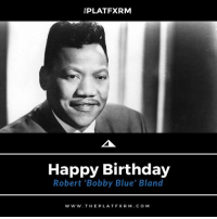 """[⚫️🎂🎉🎈Birthdays] - Famous blues and R&B singer, Robert 'Bobby Blue' Bland, was born on this day back in 1930 MelaninMatters365⠀⠀⠀ •••••••••••••••••••••⠀⠀ Jan. 27, 1930 - Jun. 23, 2013⠀⠀ •••••••••••••••••••••⠀⠀⠀⠀⠀⠀ 🔥Drop a ✊🏽✊🏾✊🏿 in the comments to help us celebrate the life and legacy of BobbyBlueBland 🔥⠀⠀⠀⠀⠀⠀ •••••••••••••••••••••⠀⠀⠀⠀⠀⠀ thePLATFXRM 