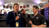 TPT correspondent @bryzgoalie30 asks @Penguins captain Sidney Crosby some hard-hitting questions at #NHLAllStar media day in Tampa https://t.co/g8E0oZ5upa: EPLAYERS  BUN  ALL STAR TPT correspondent @bryzgoalie30 asks @Penguins captain Sidney Crosby some hard-hitting questions at #NHLAllStar media day in Tampa https://t.co/g8E0oZ5upa
