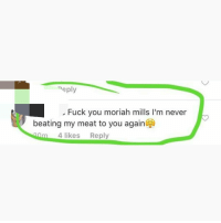 Commit Mils got ass mine, not