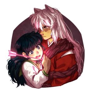 "megaepiphany: ""I want to live!""  —- *The Start of Something New plays in the bg* I've been hit with the feelings… at least now im finally happy with how i draw Inuyasha lol commission info 