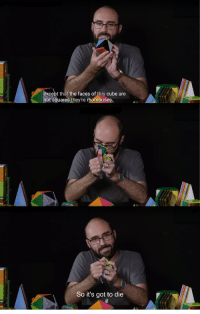 """Got, Cube, and Via: ept that the faces of this cube are  not squares they're rhombuses  So it's got to die <p>Rhombuses got to die via /r/MemeEconomy <a href=""""https://ift.tt/2wYQcjF"""">https://ift.tt/2wYQcjF</a></p>"""