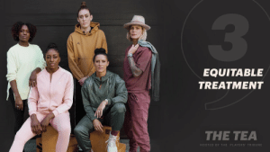 The USWNT lawsuit, the WNBA's new CBA, a lack of resources and salaries. Let's just say … they went there.   #TheTea, Episode 3 with @alikrieger, @Ashlyn_Harris, @breannastewart, @dharp100mh, and @Nnemkadi30.  🎥: https://t.co/WhqL7XZp9Z https://t.co/0Ftx1xC1Jw: EQUITABLE  TREATMENT  THE TEA  HOSTED BY THE PLAYERS' TRIBUNE The USWNT lawsuit, the WNBA's new CBA, a lack of resources and salaries. Let's just say … they went there.   #TheTea, Episode 3 with @alikrieger, @Ashlyn_Harris, @breannastewart, @dharp100mh, and @Nnemkadi30.  🎥: https://t.co/WhqL7XZp9Z https://t.co/0Ftx1xC1Jw