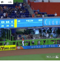 Now that's a robbery! 😳 (via @mlb): ER BB K 4 FIELDS RMP  26 29 79  LEV  LYDRO.COM  LORO.COM  HOMEOF THE  MLB.com Now that's a robbery! 😳 (via @mlb)
