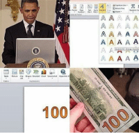 So this is what Obama has been up to...: er Footer Page  eader &Footer  Go  Table  ipicture Clip Shapes SmartArt Chart Screenshot Hiperlink E  Art  Tables  IDustrations  100  Text  A Signature Line  TC S  32 Date& Time  istotiet. Equation Sy  A A A A A  A A A A A  A A A A A  A A  Gradient ft.Onange, Accent 6.  A A So this is what Obama has been up to...
