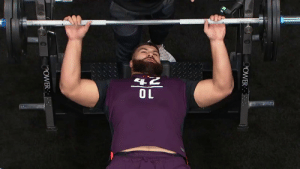 Memes, 🤖, and All: ER .@weberstatefb OL Iosua Opeta tops all offensive linemen with 39 REPS in the bench press! 🏋️ #NFLCombine @iosuaopeta55 https://t.co/N3FTYiYnel