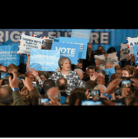 Lgbt, Love, and Memes: ERESA MA  ANDING UP  OR BRITAIN  A LEADE  STRONGER  OTE  VE  SERVATIVE  HERESA  STRONG. STABL  A SI I support Theresa May and the Conservatives in the 2017 General Election. May will seek to restore Britain's borders whilst attempting to maintain free trade and economic prosperity in the U.K. I believe she is the only candidate who has the correct stance on terrorism as well, stating she will crack down on homegrown terrorism. The U.K. doesn't need Corbyn's socialist and borderline-isolationist platform, nor does it need the Lib Dem's anti-referendum platform. PARTNERS (DM or comment to partner) ---------------------- @hoppeanite @mister.aftermath @imthatlibertarian @dont_tread_on_anyone @eco_anarcho_socialism @castrosjewgroove @the_progressive_post @libertarian.christian @politicsdaily17 @colt.lion.heart @canned_liberty @1776dont.tread @new.liberal @patriotic.libertarian ---------------------- lgbt liberty love peace republican democrat libertarian capitalism socialism communism liberal conservative politics political tax taxationistheft environment war antiwar garyjohnson2016 johnson2016 garyjohnson feelthejohnson ronpaul