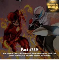 Do you think we will see Hot Pursuit in the show? - dc dccomics dccomicsfacts supervillain dcuniverse facts dcgramm dcheroes venom dcvillains beautiful dcu anime dcart cartoon photo dccomic muhammadali justiceleague flash wallywest batman batmanvsuperman flashcw barryallen theflash =====================================: ERHERO  BOOK  Fact #739  Hot Pursuit, Barry Allen from a parallel universe, built the  Cosmic Motorcycle with the help of Wally West. Do you think we will see Hot Pursuit in the show? - dc dccomics dccomicsfacts supervillain dcuniverse facts dcgramm dcheroes venom dcvillains beautiful dcu anime dcart cartoon photo dccomic muhammadali justiceleague flash wallywest batman batmanvsuperman flashcw barryallen theflash =====================================