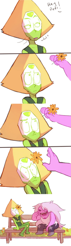 Tumblr, Blog, and Flowers: eRI  wha bordogushter:    Monday, April 29 - Gardening / Flowers  @amedotweek  Confirmation: Peridot is a Cat