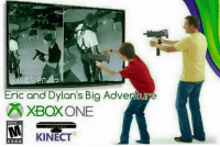 dylan: Eric and Dylan's Big Adventure  XBOXONE  MATURE 17  KINECT  ESAB