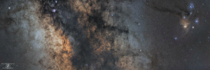 photos-of-space:  The core of the Milky Way Galaxy along with the Lagoon Nebula, Trifid Nebula, and Rho Ophiuchi Complex [OC][7500x2500]: ERIC BENEDETTI  PHOTGRPHY photos-of-space:  The core of the Milky Way Galaxy along with the Lagoon Nebula, Trifid Nebula, and Rho Ophiuchi Complex [OC][7500x2500]