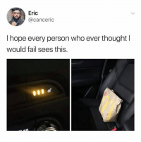 Dude is living in 3017: Eric  @canceric  I hope every person who ever thought l  would fail sees this. Dude is living in 3017
