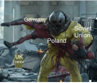 Germany, Russia, and Soviet: erman  Soviet  Union  oland  UK  rance Nazi Germany and Soviet Russia sign the Molotov–Ribbentrop Pact (c.1939)
