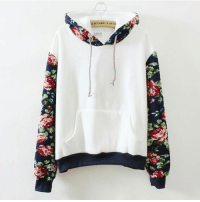 """Fashion, Memes, and Free: ERNARD LAF  2)  契 Floral Hoodie, was $58.75, now only $30.16, 48% Off Now! 2 colors available! Free Shipping Worldwide! Link: http:-bit.ly-2kp4Ny1 (Clickable link in bio!) FEW DAYS LEFT! GET IT NOW WHILE IT'S ON SALE! Tag a friend who needs this Floral Hoodie! Search """"floral"""" On The Site To Get More Floral Related Items! beautifulhalo outfit fashion want beautifulhalo"""