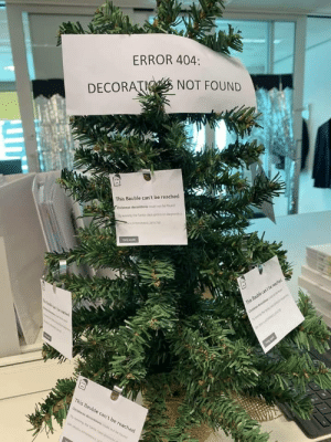 admin's Xmas tree: ERROR 404:  DECORATIO NOT FOUND  This Bauble can't be reached  Chrstmas decorations could net be found  hyning ne Santa cla prtocoi agnostics  This Bauble can't be reached  Cristnas decarts  This Bauble can't be reached  Cristmas decorations cd t eound  ying heSata claus pron admin's Xmas tree