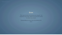 """Gif, Target, and Tumblr: Error  There was an emor processing your request Our  engineers have been alerted and wil work quickly  to correct any issues  End out wty you may have encountered this <p><a class=""""tumblr_blog"""" href=""""http://www.hobolunchbox.com/post/64530275462/every-time-tumblr-goes-down-a-new-gif-about-it-is"""" target=""""_blank"""">hobolunchbox</a>:</p> <blockquote> <p>Every time Tumblr goes down a new gif about it is born.</p> </blockquote>"""