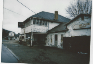 rust-belt-gothic:  Instax Mini 90, Abandoned business, Vinton County Ohio, 3/25/19: ERS PIZZA rust-belt-gothic:  Instax Mini 90, Abandoned business, Vinton County Ohio, 3/25/19