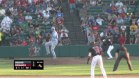 Chicago, Sports, and Player: es  LD  ro  15  CHICAGO  REDHAWKS  B: 0 S:1 OUT: 2  5 BOT 2ND A night after a player replaced an ump with a garbage can, a manager from the same two teams gave 3rd base away to a fan after being ejected https://t.co/kFb39WetP7