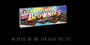 Candy, Chocolate, and Space: es  Little Debbie  CHOCOLATE CHIP CAnDy  CONTAINS 6 PACKAGE  ET WT 13.1 0. (372g  IN SPACE NO ONE CAN HEAR YOU EAT ALL PRAISE LIL' DEBBIE