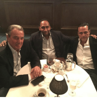 Memes, 🤖, and Powers: es, Power dinner with the two biggest soap opera icons, Eric Braeden and @mauricebenard. generalhospital theyoungsndtherestless