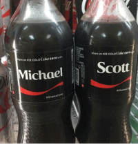 what're the odds.. ———— theoffice dundermifflin dwightschrute michaelscott theofficeshow: ES  re an ICE COLD Cokezero with  Share an ICE COLD Co  ichaelScott  # Share aCoke  what're the odds.. ———— theoffice dundermifflin dwightschrute michaelscott theofficeshow