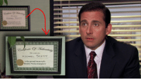 Something I noticed while watching today: esate  MICHAEL SCOTT  is the proud ownerofa  Quality cyko timepiece Something I noticed while watching today