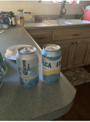 My sister sent my 11 year old nephew to school today with what she thought was a Fresca packed in his lunch….: ESCA  FR  GODA  ta A  Torona  Extra My sister sent my 11 year old nephew to school today with what she thought was a Fresca packed in his lunch….