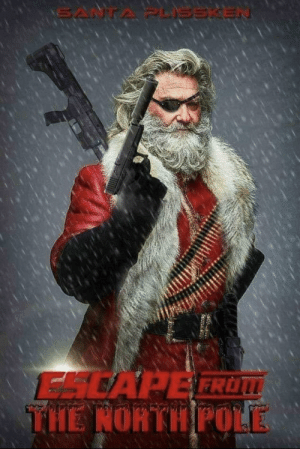 The Santa we needed.: ESCAPE FROM  THE NORTH POLE The Santa we needed.