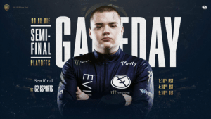 Our #ESLOne New York semifinals match against @G2esports starts now!  Heading into this match with a flawless map win record, we're #EGReady to prove ourselves yet again and lockdown a spot in tomorrow's grand finals!  https://t.co/1y2PFtEw61 https://t.co/4CHCnUBuwi: ESL ONE New York  ONE  GASTAY  DO OR DIE  SEMI-  FINAL  Afirity  PLAYOFFS  M  1:30P PST  4:30PM EST  9:30P CET  Semifinal  62 ESPORTS  VS  T17MNSTER  FVB  EVI Our #ESLOne New York semifinals match against @G2esports starts now!  Heading into this match with a flawless map win record, we're #EGReady to prove ourselves yet again and lockdown a spot in tomorrow's grand finals!  https://t.co/1y2PFtEw61 https://t.co/4CHCnUBuwi