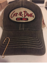 Memes, Golf, and 🤖: EST, 1991 So ya asked about the red one, so here ya go. Grab a Git-R-Done trucker hat...or tour hat...or golf hat at gitrdoneshop.com