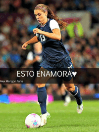 Alex Morgan: ESTO ENAMORA*  Alex Morgan Fans