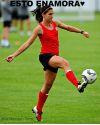 Alex Morgan: ESTO ENAMORA  Alex Morgan Fans