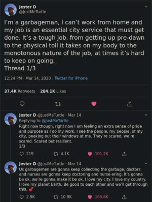 estradoll:  hickeywiththegoodhair:   Sanitation workers are braver than any US marine and perform a better service for the community than cops could ever hope to: estradoll:  hickeywiththegoodhair:   Sanitation workers are braver than any US marine and perform a better service for the community than cops could ever hope to