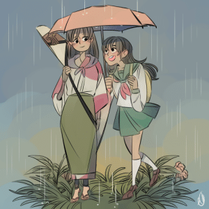 eszart: sango and kagome in the rain! I planed on finishing this drawing for    @kagsanweek​   arghhhhhhhh- I'm really sad to be late but happy because it gave me an excuse to draw those ladies!   hey! I forgot to mention this but I have my finals now from may to june (I take some of my subject this year and rest next year) I do have time from test to test so I won't be taking brake from drawing but it might be the reason why I'm less active and posting and I wanted to say sorry for that T^Tgood luck to all of you who are taking them or finished~! and congratulation to all of you who graduate~!   : eszart: sango and kagome in the rain! I planed on finishing this drawing for    @kagsanweek​   arghhhhhhhh- I'm really sad to be late but happy because it gave me an excuse to draw those ladies!   hey! I forgot to mention this but I have my finals now from may to june (I take some of my subject this year and rest next year) I do have time from test to test so I won't be taking brake from drawing but it might be the reason why I'm less active and posting and I wanted to say sorry for that T^Tgood luck to all of you who are taking them or finished~! and congratulation to all of you who graduate~!