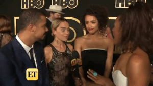 surprisebitch:  ilikepipecleanerswitheyes:  'game of thrones' cast hating their own show for twenty seconds straight  lmaoo they look high: ET surprisebitch:  ilikepipecleanerswitheyes:  'game of thrones' cast hating their own show for twenty seconds straight  lmaoo they look high