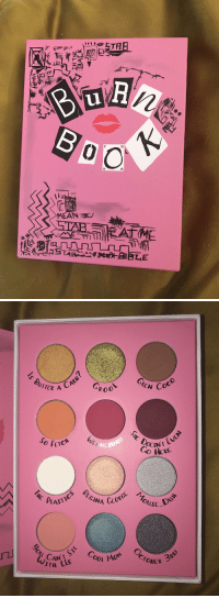 CoCo, Omg, and Girl Memes: ETH  u.  LT   GLEN  UTTER A  Coco  RoO  E&  NESO  CTCA  REGINA  oust-  USE  LAST  AN  BER 300 This is the cutest palette ever omg https://t.co/xUl3YCcQsX