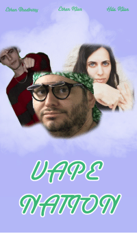Donald Trump, Movies, and Pop: Ethan Beadbezey  Ethan  Hala Klien. TIL Donald Trump hates Vape Naysh and Papa Johns. UpDank for a free sodie pop