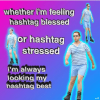 Blessed, Ether, and Memes: ether il'm feeling  hashtag blessed  or hashtag  Stressed  malways  ookingmy  hashtag best i havent done homework in like 9 months