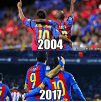 Barcelona, Friends, and Memes: ETO  2004  SSI  2011  CREDITS GWE ARE FUTBOL Barcelona 10 & 9 🏆 Tag Friends 👥 📷 @We.are.futbol Follow ➡ @footy.earth @footxfootball
