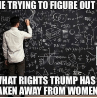 """America, Facebook, and Instagram: ETRYING TO FIGURE OUT  UO O  HAT RIGHTS TRUMP HAS  KEN AWAY FROM WOMEN 🤔🤔🤔 As men, we'll never be able to figure out women... it's truly a mystery when a woman says """"I'm fine"""" and is not fine in the least bit 😂 womensrights feminismiscancer liberals libbys democraps liberallogic liberal ccw247 conservative constitution presidenttrump resist stupidliberals merica america stupiddemocrats donaldtrump trump2016 patriot trump yeeyee presidentdonaldtrump draintheswamp makeamericagreatagain trumptrain maga Add me on Snapchat and get to know me. Don't be a stranger: thetypicallibby Partners: @theunapologeticpatriot 🇺🇸 @too_savage_for_democrats 🐍 @thelastgreatstand 🇺🇸 @always.right 🐘 @keepamerica.usa ☠️ @republicangirlapparel 🎀 TURN ON POST NOTIFICATIONS! Make sure to check out our joint Facebook - Right Wing Savages Joint Instagram - @rightwingsavages"""