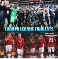 Memes, Manchester United, and United: EUROPA LEAGUE FINALISTS  @Soccerclub  @Instatroll futbol  AASHFORO The Europa League Finalists are Manchester United vs Ajax!