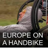 20 NOV: When Alexander Avdevich from Belarus was paralysed in a traffic accident five years ago, he had no idea it would mark the beginning of an entirely different journey - one that would take him on the trip of his life across Europe. AlexanderAvdevich Wheelchair Handbike Belarus Disability EuropeanTrip Inspirational Paraplegic BBCShorts @BBCNews: EUROPE ON  A HANDBIKE 20 NOV: When Alexander Avdevich from Belarus was paralysed in a traffic accident five years ago, he had no idea it would mark the beginning of an entirely different journey - one that would take him on the trip of his life across Europe. AlexanderAvdevich Wheelchair Handbike Belarus Disability EuropeanTrip Inspirational Paraplegic BBCShorts @BBCNews