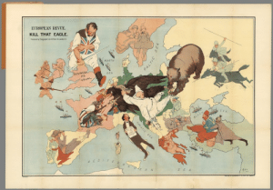 Click, Tumblr, and Blog: EUROPEAN REVUE.  KILL THAT EAGLE.  Produced by Teenpha, 56 Fleet St Lorda, EC  WORTH  USIN  SEA  AS  USUAL  MEDIE  E A N land-of-maps:  Kill That Eagle - WWI Map (1914) [1254x874]CLICK HERE FOR MORE MAPS!