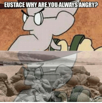 new year, new meme: EUSTACE WHY ARE YOU ALINAYSANGRya new year, new meme
