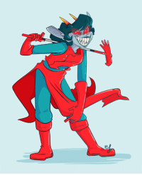 Target, Tumblr, and Blog: evegwood: homestuck? i hardly knowstuck (redrew this thing from 2012)